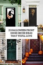 Front Door Decoration Ideas Decorate Your Front Door Halloween Home Decorating Ideas