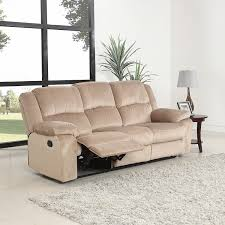 Microfiber Reclining Sofa Sets 3 Pc Microfiber Recliner Sofa Set Living Room Room Beige