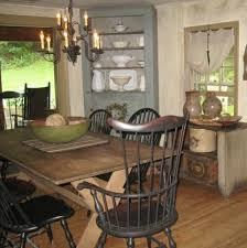 Primitive Dining Room Tables 355 Best Colonial Style Decorating Images On Pinterest Primitive