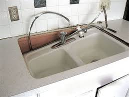 Concrete Kitchen Sink by Dramatic Concrete Kitchen Update Hometalk