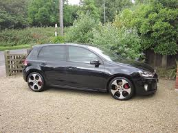 black volkswagen gti vw golf gti mk6 2009 59 dsg 5 door black m3 r r32 s3 rs3