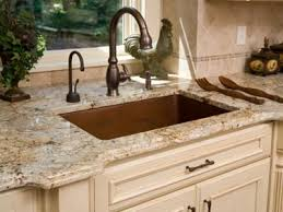 white sink black countertop blue pearl delicatus white granite countertops bronze single bowl