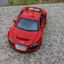 model car toy 1 32 toy model car audi r8 1 32 alloy diecast sound u0026light gift for