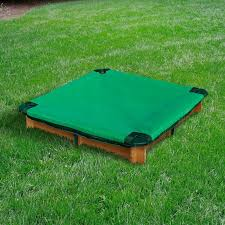 Badger Basket Covered Convertible Cedar Sandbox With Two Bench Seats Wood Sandboxes U0026 Water Tables You U0027ll Love Wayfair