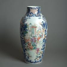 mandarin porcelain late 18th century mandarin porcelain vase c 1780 china from
