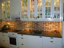 faux brick kitchen backsplash brick kitchen backsplash view in gallery brick kitchen