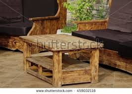 Handmade Wooden Outdoor Furniture by Outdoor Patio Stock Images Royalty Free Images U0026 Vectors