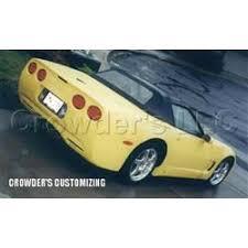 c4 corvette ground effects corvette kit c4 to c5 upgrade ground effects 84 96