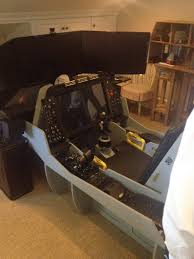 my uncle takes his flight sim very seriously gaming