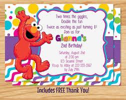 sesame street party invitations u2013 gangcraft net
