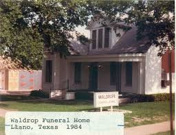 ta funeral homes waldrope funeral home llano 1984 this photograph ta flickr