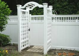 Different Types Of Fencing For Gardens - best 25 white vinyl fence ideas on pinterest white fence vinyl