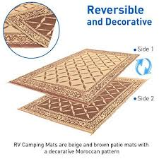 Camping Patio Mats by Patio Mat Rv Reversible Indoor Outdoor Camping Picnic Carpet Beach