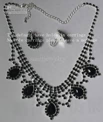 black rhinestone necklace images Sandi pointe virtual library of collections jpg