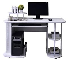 Office Design Corner Office Workstation Desk Black Finish Corner