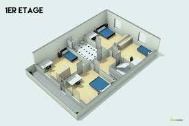 plans de cuisine plan maison 50m2 au sol fresh plan maison 50m2 plan maison m