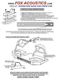 Dodge Ram Trucks Good - amazon com fox acoustics dodge ram quad and crew cab dual 12