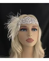Sho Gatsby amazing savings on 1920s flapper peacock feather headband great