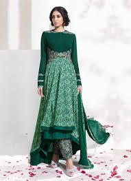 designer dress green designer dress new india fashion