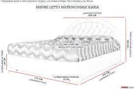 materasso standard materasso piazza e mezza misure great awesome misure materasso