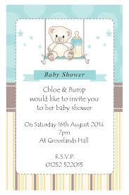 photo baby shower invitations grey image