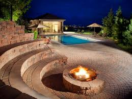 backyard fire pit andor fireplace ideas diy network made living