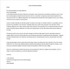 Qualities In Resume Bunch Ideas Of Letter Of Recommendation For Manager Template In