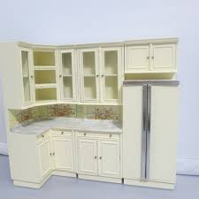dollhouse kitchen furniture dollhouse kitchen set sets furniture superior 8 white cb 250x250