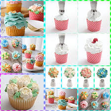 flower decorating tips russian piping tips baking supplies 31pcs the only cake piping