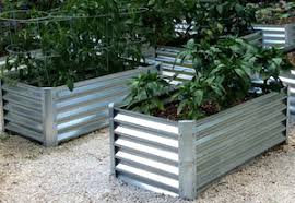Corrugated Metal Garden Beds Raised Garden Beds Say Farewell To Saggy Bottoms Self Reliance