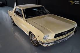ford mustang 289 coupe 1964 yellow 289 for sale dyler