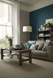 Cool Brown And Blue Living Room Designs DigsDigs - Blue family room ideas