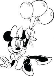 minnie mouse coloring pages free printable pictures perfect