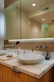 Bathroom Mirror Cabinets With Light by Bathroom Mirror Cabinet Light With Modern Double Sink Bathroom