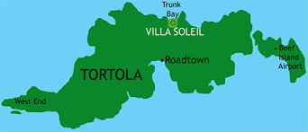 map of bvi and usvi getting there villa soleil