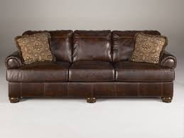 Leather And Wood Sofa Furniture Axiom Walnut Sofa The Home