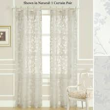 Cotton Drapes Decor Window Shears Drapes And Sheers Semi Sheer Curtains
