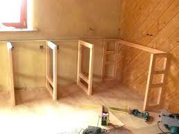 construire meuble cuisine faire un meuble de cuisine idées décoration intérieure