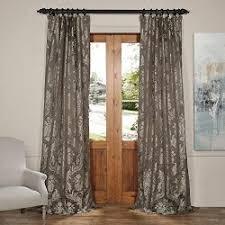 Thai Silk Drapes United Linens Samantha Panel Wh Set Of 2 Window Curtain Faux Silk