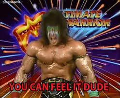 Ultimate Warrior Meme - 19 completely insane gifs of the ultimate warrior from goof balls and