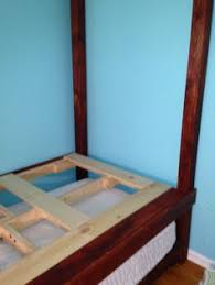 Pallet Bunk Bed Oh Yeah Easy I Can Make This Projects by My Husband Made This Cool Loft Bed For Our Boys Using Pallets