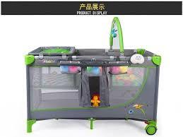 portable baby suite baby crib deluxe playard folding crib trolley