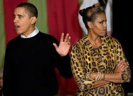 Barack Obama Halloween Costume Michelle Obama Dress Leopard White House Halloween
