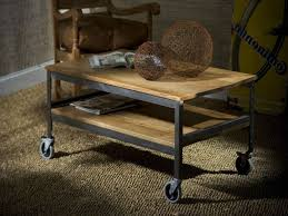 Rustic Coffee Table With Wheels Brilliant Coffee Tables With Wheels Rustic Coffee Tables With