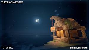 very small medieval house minecraft tutorial re upload youtube