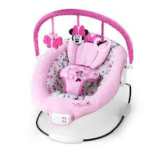 disney baby minnie mouse garden delights bouncer walmart