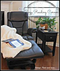 cozy reading corner vintage paint and more