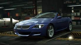 bmw m6 blue bmw m6 convertible e64 need for speed wiki fandom powered by