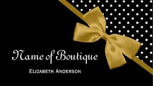 black and gold ribbon girly ribbons and bows business cards page 1 girly business cards