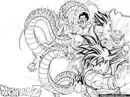 dragon ball coloring pages bebo pandco